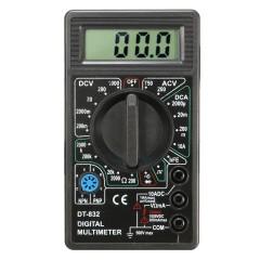 Работа с мультиметром dt 832