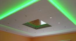 Все об подсветке потолка