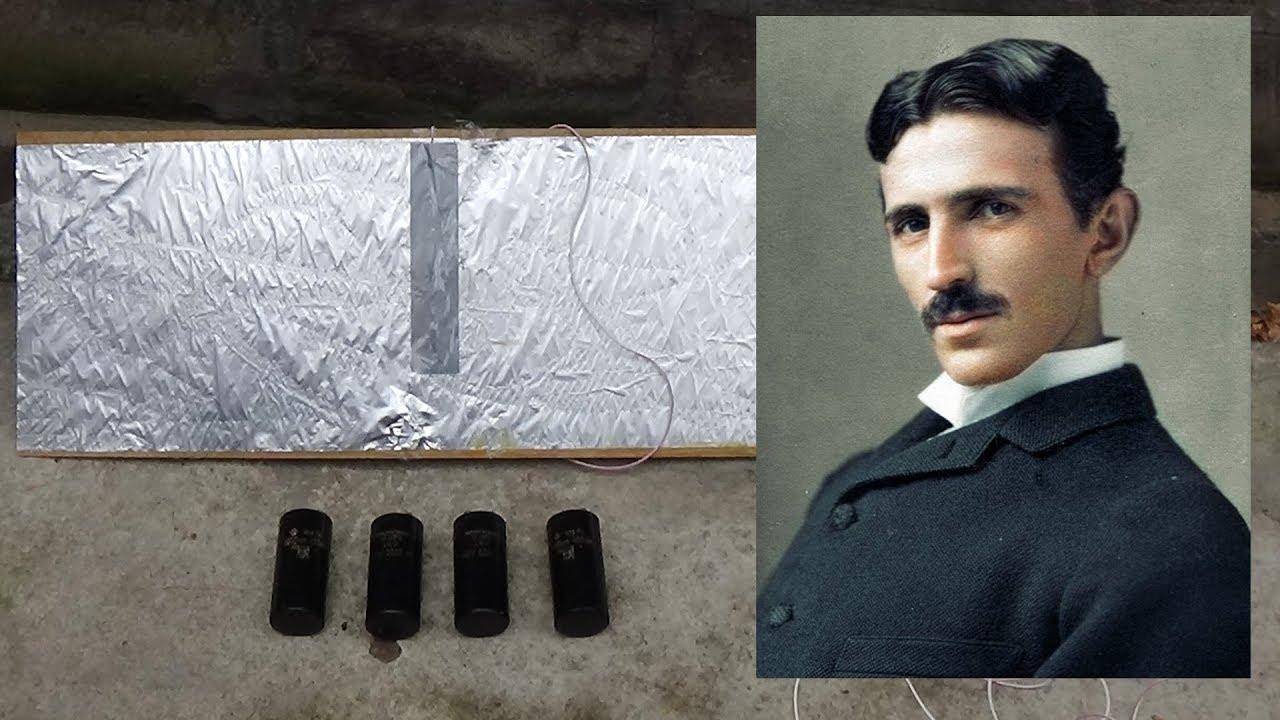 Трансформатор Тесла своими руками, простейшая схема